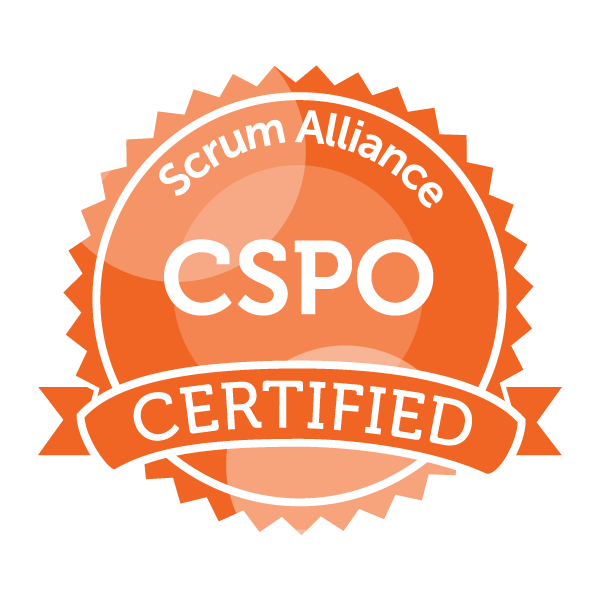 Scrum Alliance CSPO seal