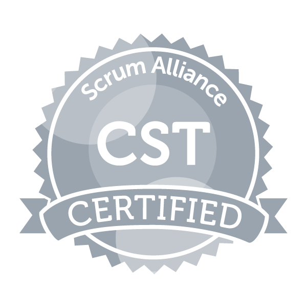 Scrum Alliance CST seal
